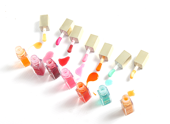 Clarins Instant Light Lip Comfort Oil Colours