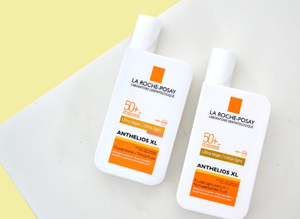 La Roche-Posay Anthelios XL Ultra Light Fluid SPF50+ & La Roche-Posay Anthelios XL Ultra Light Tinted Fluid SPF50+