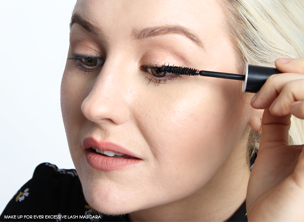 MAKE UP FOR EVER EXCESSIVE LASH MASCARA - MODEL