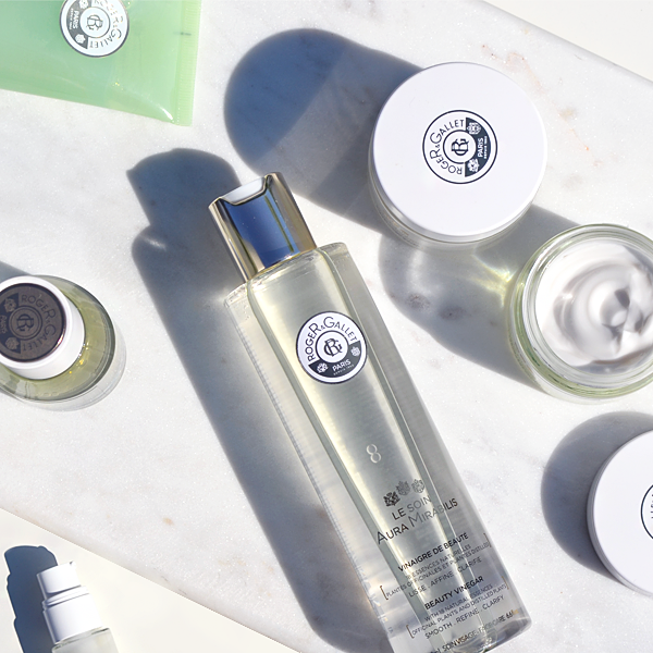 Roger & Gallet Aura Mirabilis Skincare Collection at Escentual