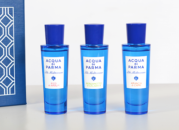 Acqua di Parma Blu Mediterraneo Travel Spray Collection