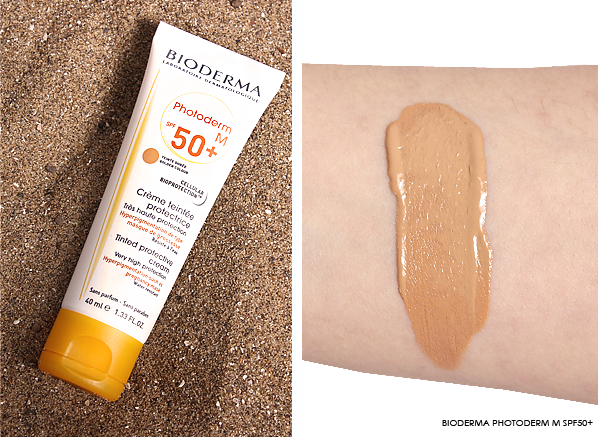 Bioderma Photoderm M SPF50+ Photo and Swatch