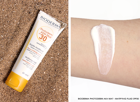 Bioderma-Photoderm-AKN-Mat-Matifying-Fluid-SPF30 Photo & Swatch