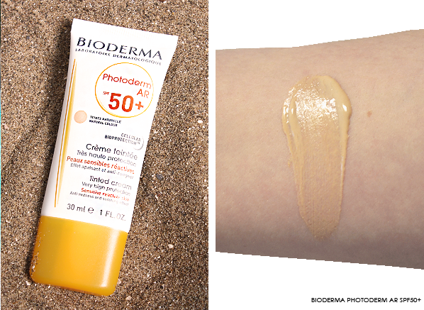 Bioderma Photoderm AR Tinted Cream SPF50+ Photo & Swatch