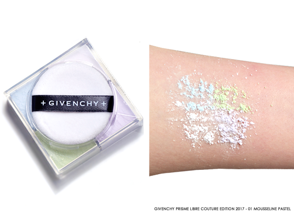 Givenchy Prisme Libre Couture Edition 2017 01 Mousseline Pastel Product & Swatch