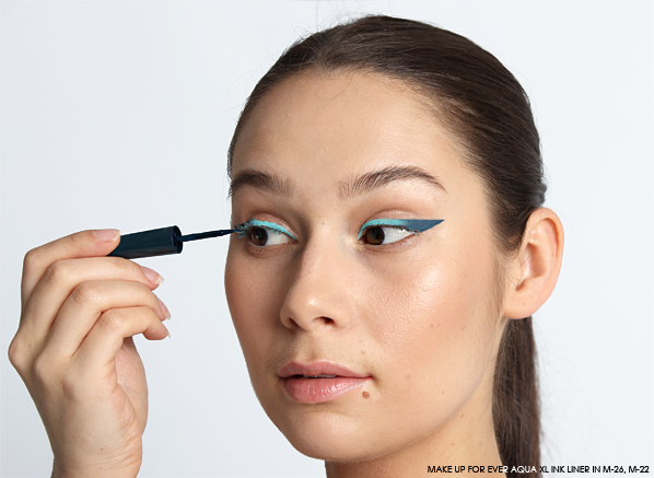 MAKE UP FOR EVER Aqua XL Ink Liner in M-26 and M-22