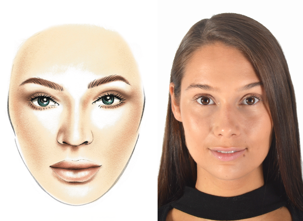 MAKE UP FOR EVER Before and After - No-Makeup Makeup Look