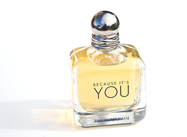 Emporio Armani Because It's You Eau de Parfum Bottle Shot