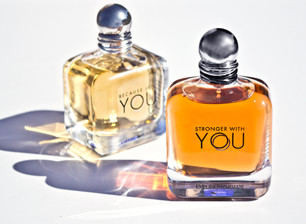 98a0e53b26 Emporio Armani Stronger With You & Because It's You Fragrances For Men and  Women