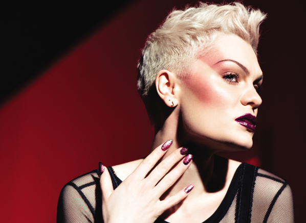 Extreme Blush Draping With MAKE UP FOR EVER & Jessie J For Artist Face Color Launch Promotional Image