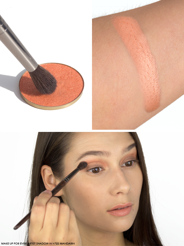 MAKE UP FOR EVER Artist Shadow in I-722 Mandarin