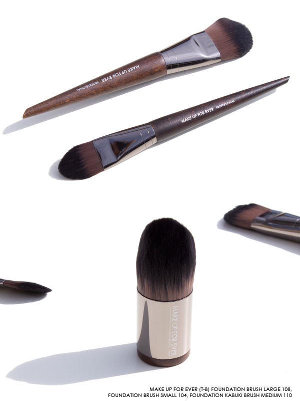 MAKE UP FOR EVER Foundation Brushes - 104, 108, 110