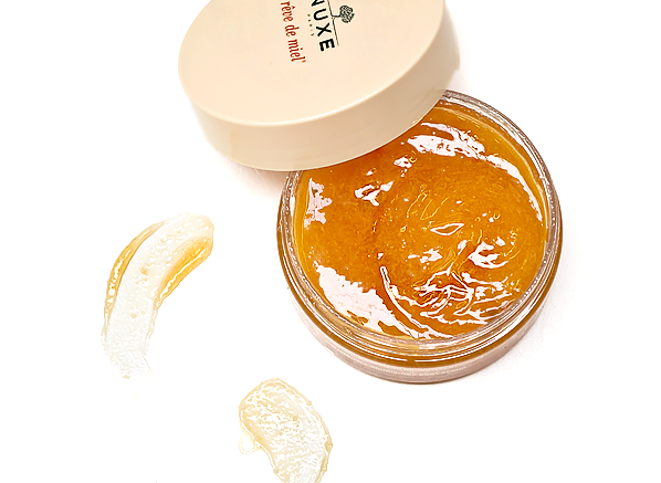 Nuxe Reve de Miel Body Scrub Open Tub Product Shot