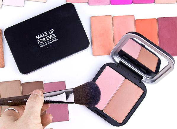 MAKE UP FOR EVER Artist Face Color collection with Artist Face Color L Palette & Brush