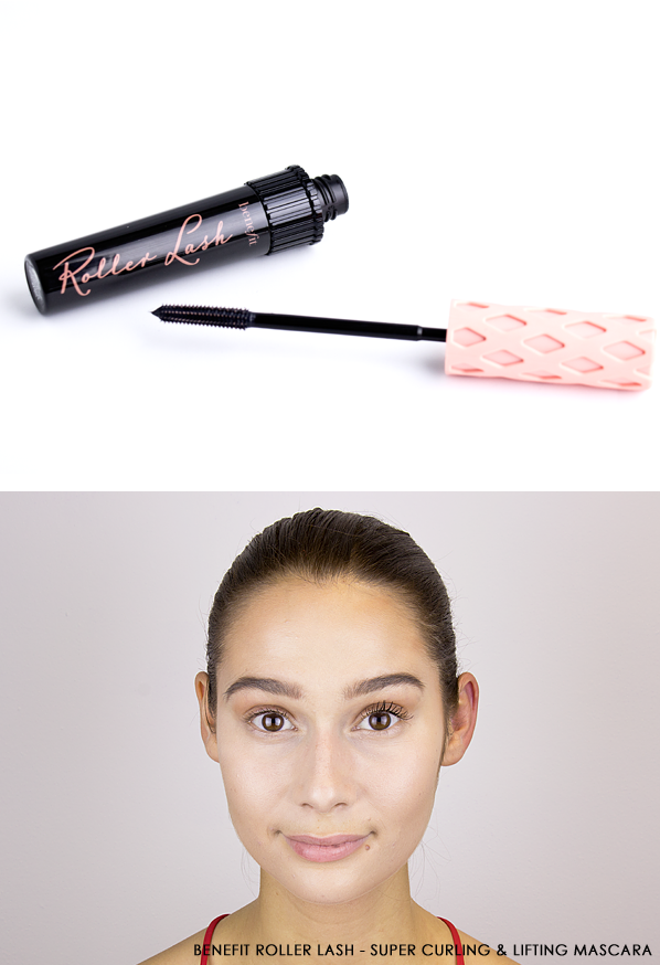Benefit Roller Lash - Super Curling & Lifting Mascara On Lashes
