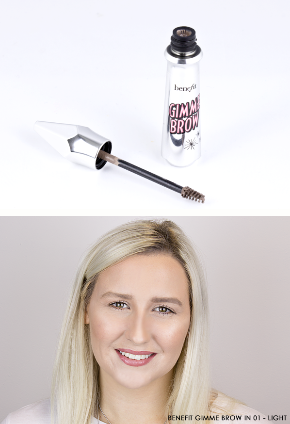Benefit Gimme Brow Volumizing Eyebrow Gel in 01 Light