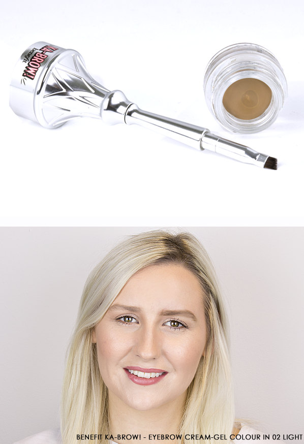 Benefit Ka-BROW! - Eyebrow Cream-Gel Colour in 02 Light Swatch