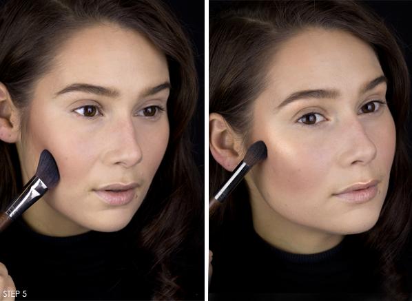 Femme-Fatale-Halloween-Makeup-Look-Contour-&-Highlight