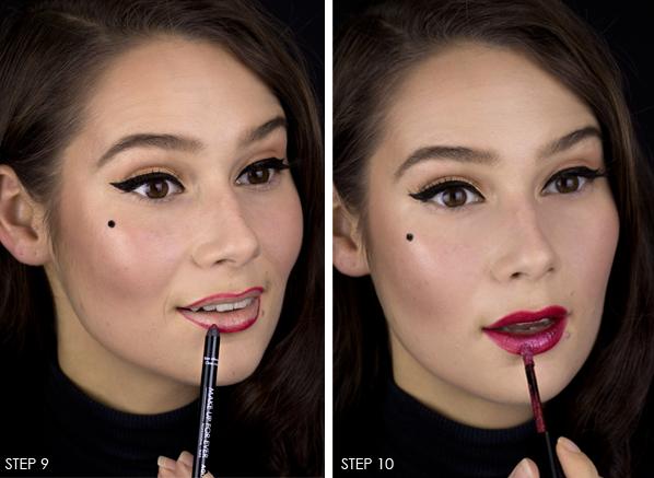 Femme-Fatale-Halloween-Makeup-Look-The-Lips