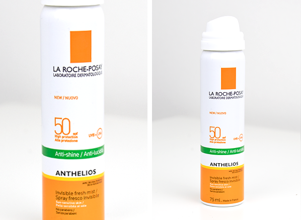 La Roche-Posay Anthelios Anti-Shine Invisible Fresh Mist SPF50 Product Close Up