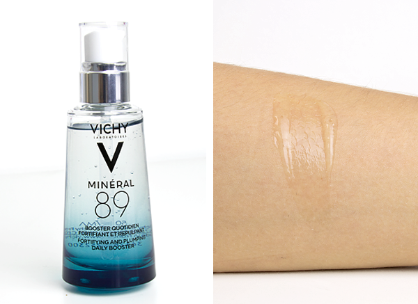 Vichy Mineral 89 Serum Swatch And Product Shot