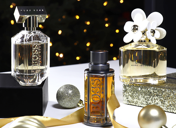 COTY Fragrance Christmas Competition Banner