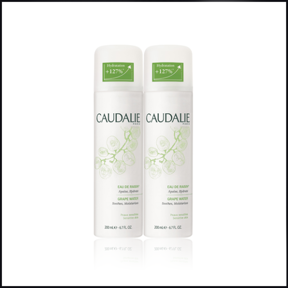 Caudalie Grape Water Spray Duo 2 x 200ml Escentual Black Friday BLACK10 Deal Offer