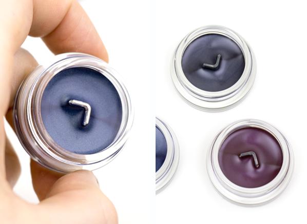 Shiseido Inkstroke Eyeliner in BL603 - Kon-ai Blue, VI605 - Nasubi Purple, GY902 - Empitsu Gray