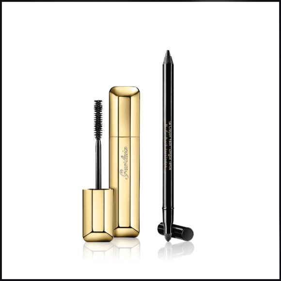 GUERLAIN Cils D'Enfer Maxi Lash Mascara 01 – Noir Gift Set Black Escentual Friday Makeup Deal