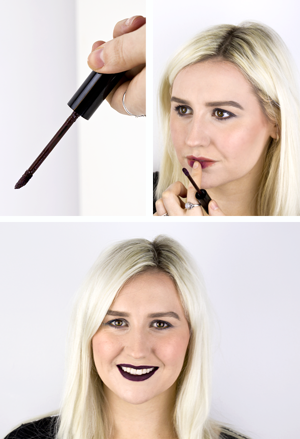 MAKE UP FOR EVER Artist Liquid Matte in 505 - Blackcurrant Dark Lips