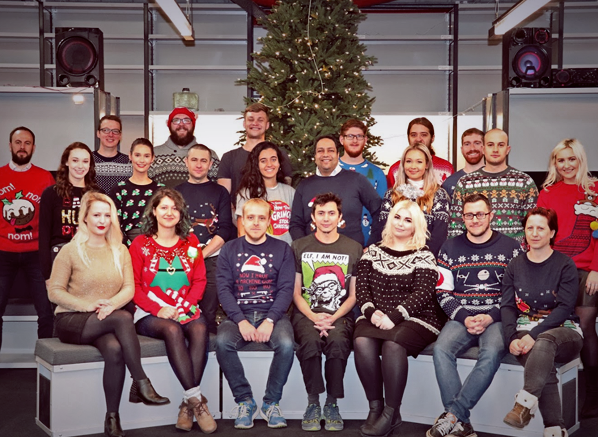Escentual Christmas Jumpers 2017