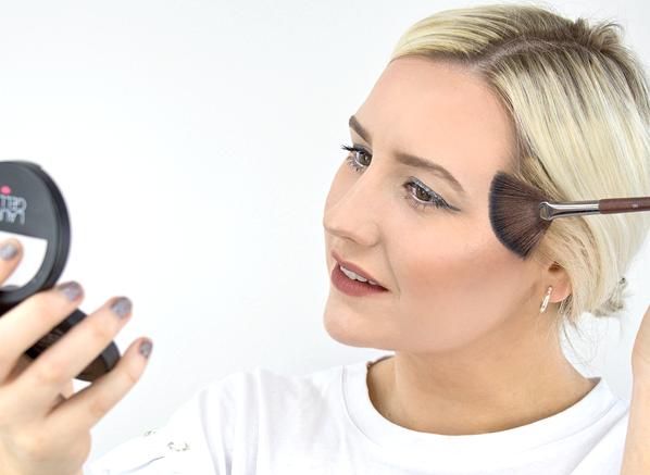 Laura Geller Baked Highlighter Duo with Brush 6.5g Portofino/French Vanilla