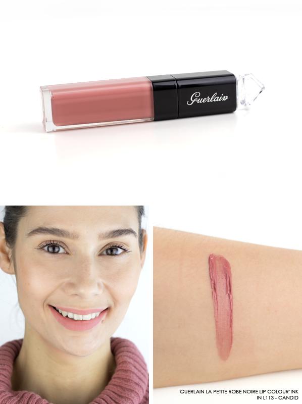 GUERLAIN-La-Petite-Robe-Noire-Lip-Colour'Ink-Liquid-Lipstick-Swatch-L113-Candid