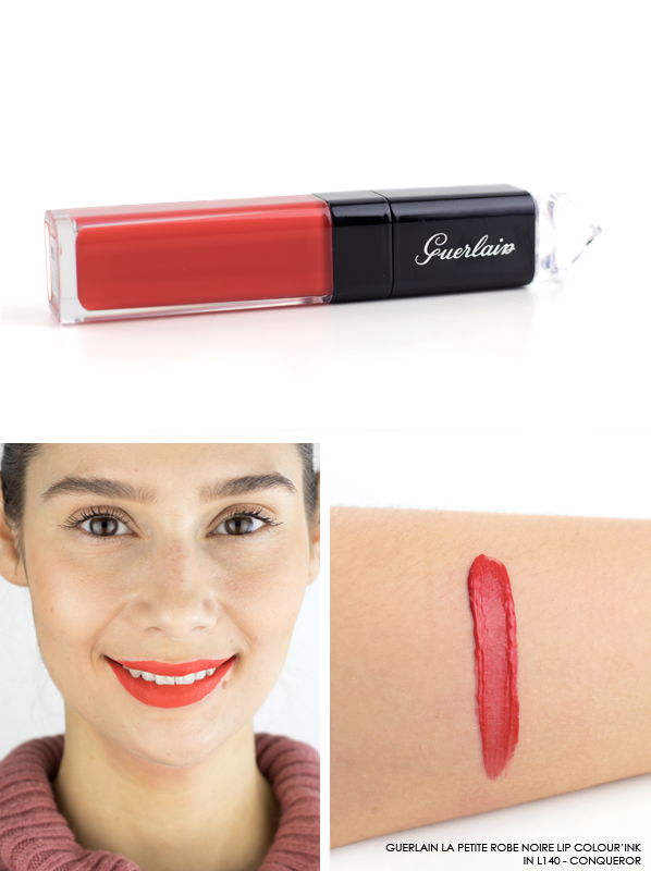 GUERLAIN-La-Petite-Robe-Noire-Lip-Colour'Ink-Liquid-Lipstick-Swatch-L140-Conqueror