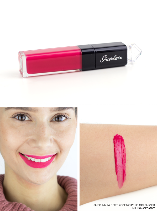GUERLAIN-La-Petite-Robe-Noire-Lip-Colour'Ink-Liquid-Lipstick-Swatch-L160-Greative