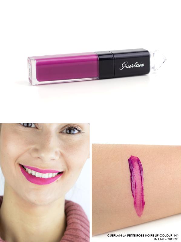 GUERLAIN-La-Petite-Robe-Noire-Lip-Colour'Ink-Liquid-Lipstick-Swatch-L161-Yuccie