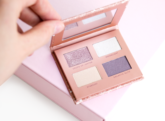A Love Letter To New Beauty - Valentine's Day Beauty - Laura Geller Celestial Bliss Hi-Def Palette - Eye Shadow