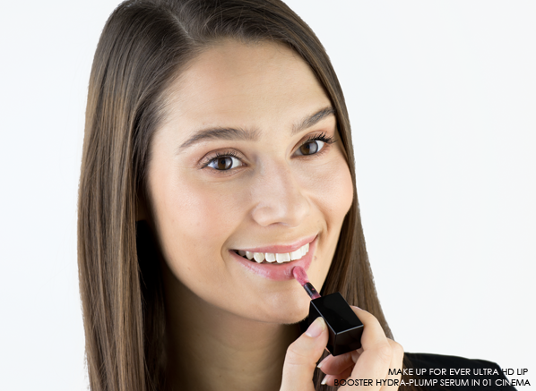 MAKE UP FOR EVER Ultra HD Lip Booster Hydra-Plump in 01 Cinema