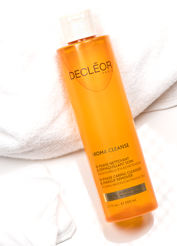 Decleor Aroma Cleanse Bi-Phase Caring Cleanser & Makeup Remover Bottle Image