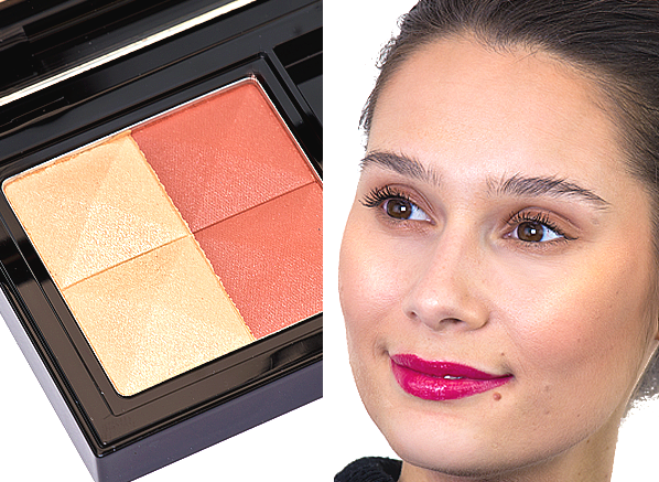 GIVENCHY Prisme Blush in 09 – African Earth Swatch On Skin