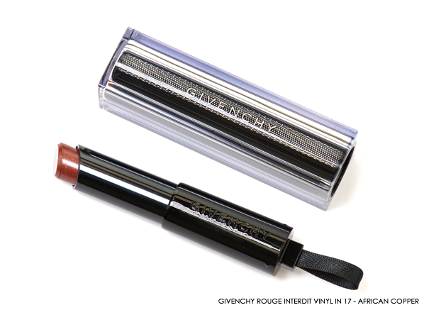 GIVENCHY Rouge Interdit Vinyl in 17 - African Copper