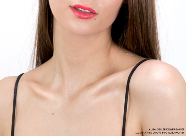 Laura-Geller-Dewdreamer-Illuminating-Drops-in-Gilded-Honey-On-The-Body