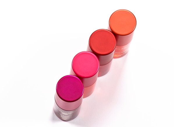 Clarins Water Lip Stain in 01 Rose Water, 02 Orange Water, 03 Red Water, 04 Violet Water Product Shot