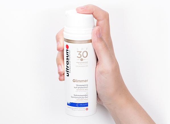 Ultrasun Shimmer Glimmering Sun Protection SPF30