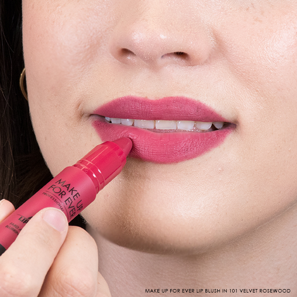 Make Up For Ever Artist Lip Blush in 101 Velvet Rosewood