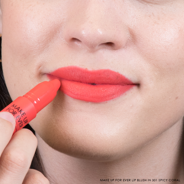 Make Up For Ever Artist Lip Blush in 301 Spicy Coral