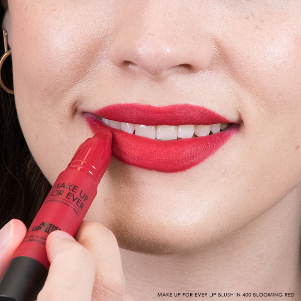 Make Up For Ever Artist Lip Blush in 400 Blooming Red