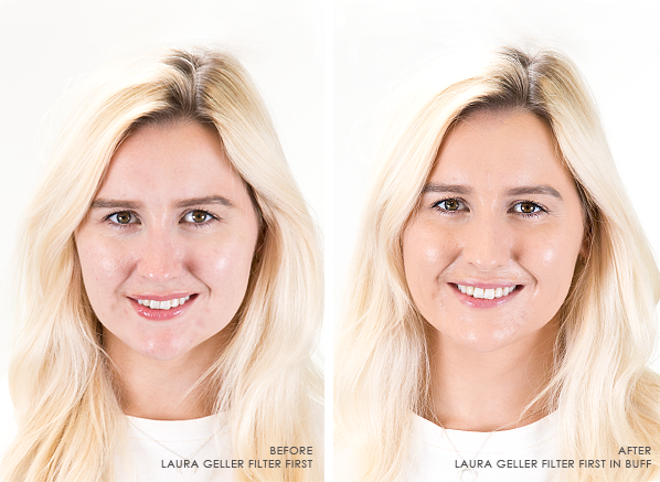 Before-and-After-Using-Laura-Geller-Filter-First-Foundation-Shade-Buff