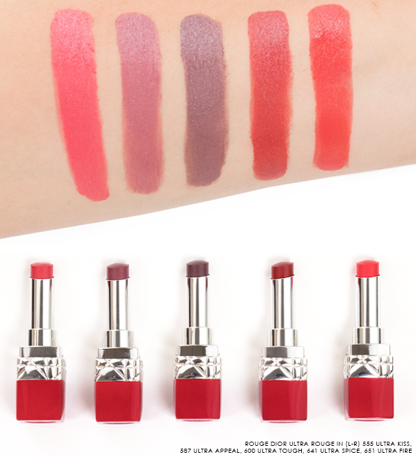 Rouge-Dior-Ultra-Rouge-Lipstick-Swatches-in-555-Ultra-Kiss-587-Ultra-Appeal-600-Ultra-Tough-641-Ultra-Spice-651-Ultra-Fire-22