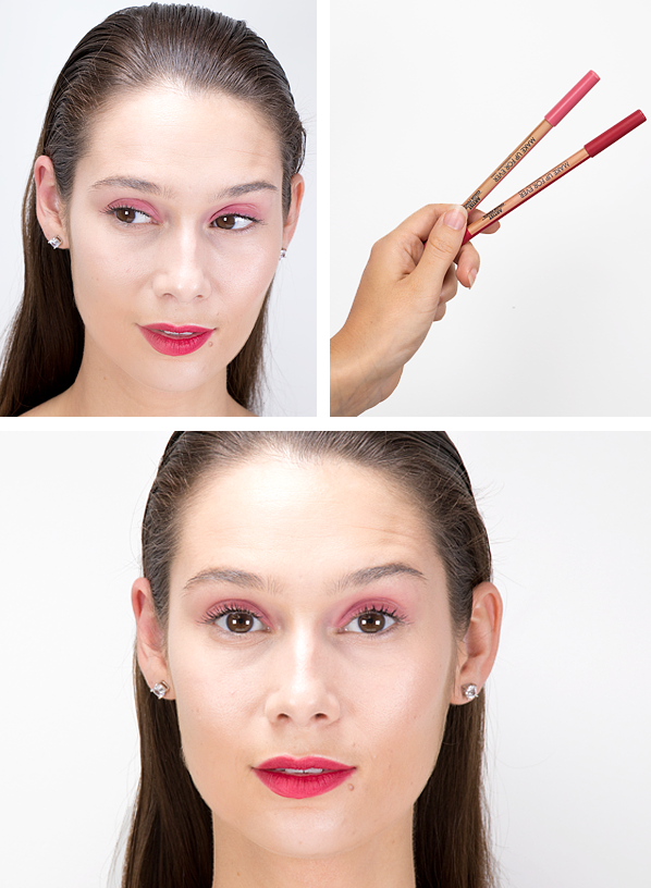 Spring Summer 2019 Makeup Trends - Ceryn-Rodarte-Spring-Summer-2019-Makeup-Look-Using-MAKE-UP-FOR-EVER-Artist-Colour-Pencil-Go-Ahead-Pink-Lava-And-So-On-2